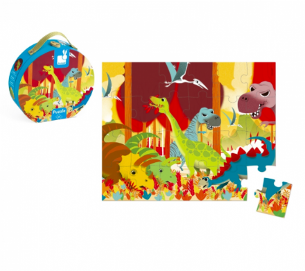 Janod Jigsaw Puzzle - Dinosaurs